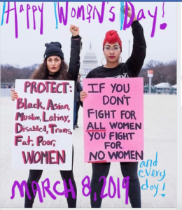 Feminist Protesters Image