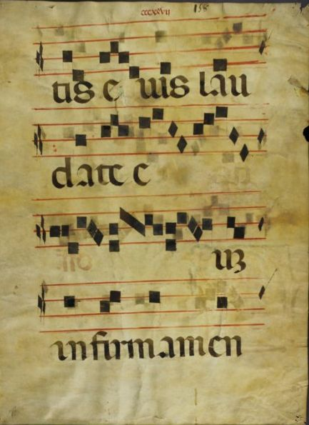 Image of manuscript fragment