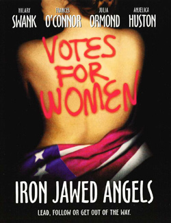 Image of Iron Jawed Angels promotional poster