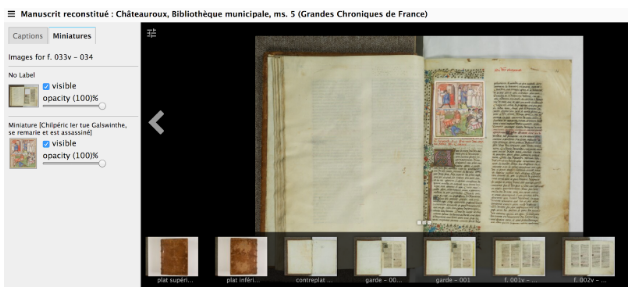 Book of Hours in IIF Viewer