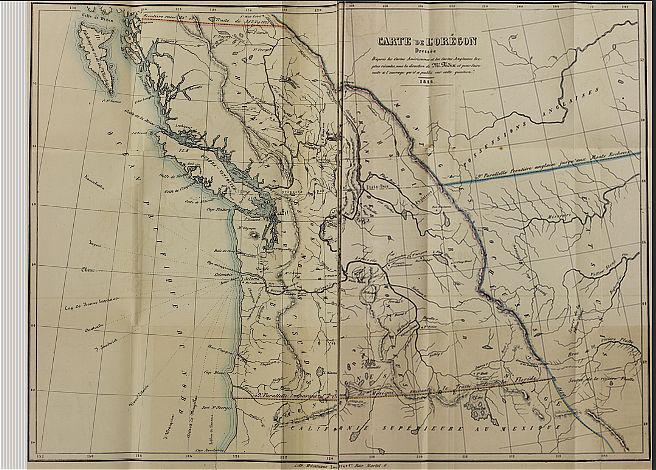 L'orégon Et Les Côtes De L'océan Pacifique Du Nord