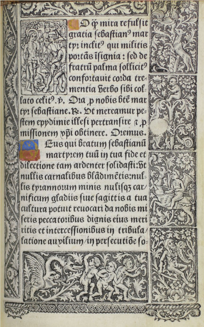 Book of Hours printed by Philippe Pigouchet for Simon Vostre