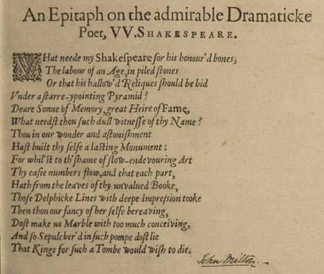 John Milton Poem
