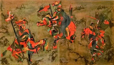 Image of Art: Untitled horsemen, 1964